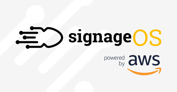 signageOS powered by Amazon Web Services
